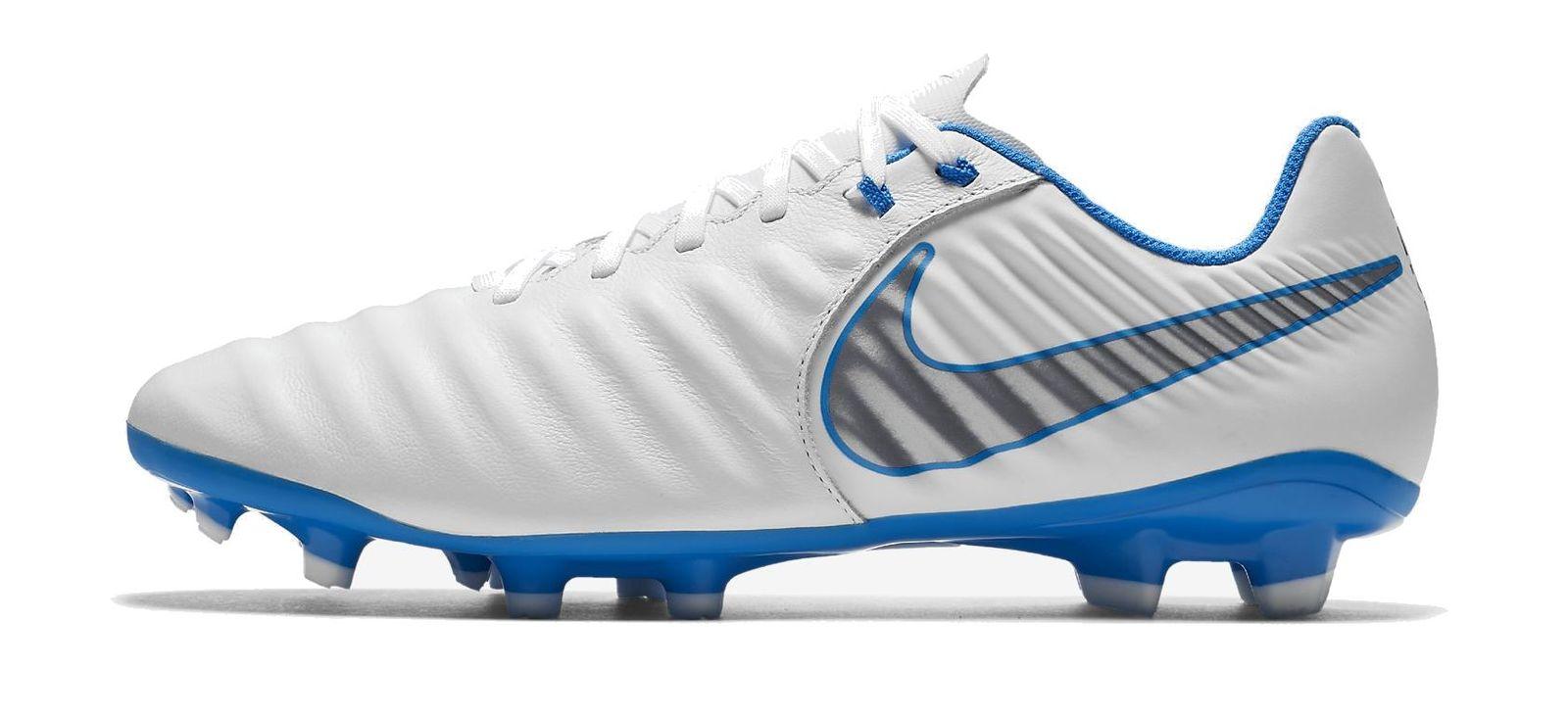Arranque de Nockenschuh de los hombres de Nike Tiempo legend blanco VII  Academia FG azul bb113b77fe765