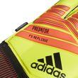 adidas Herren Torwart Handschuhe PREDATOR FINGERSAVE REPLIQUE gelb rot schwarz Bild 3