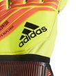 adidas Herren Torwart Handschuhe PREDATOR FINGERSAVE REPLIQUE gelb rot schwarz Bild 4