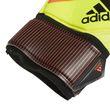 adidas Herren Torwart Handschuhe PREDATOR FINGERSAVE REPLIQUE gelb rot schwarz Bild 5