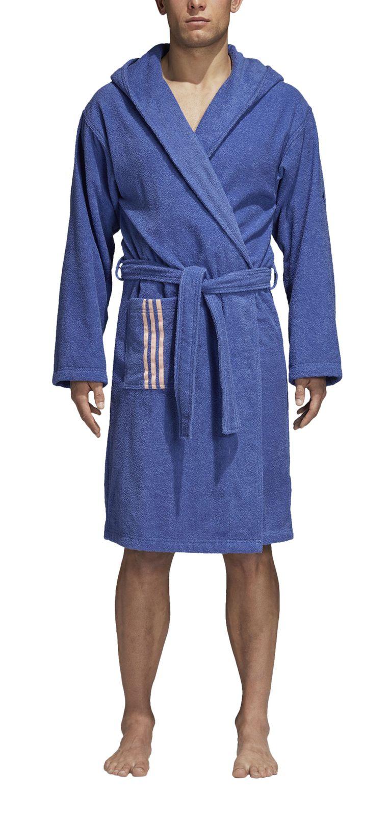 adidas performance herren bademantel bathrobe unisex real lilac ebay. Black Bedroom Furniture Sets. Home Design Ideas