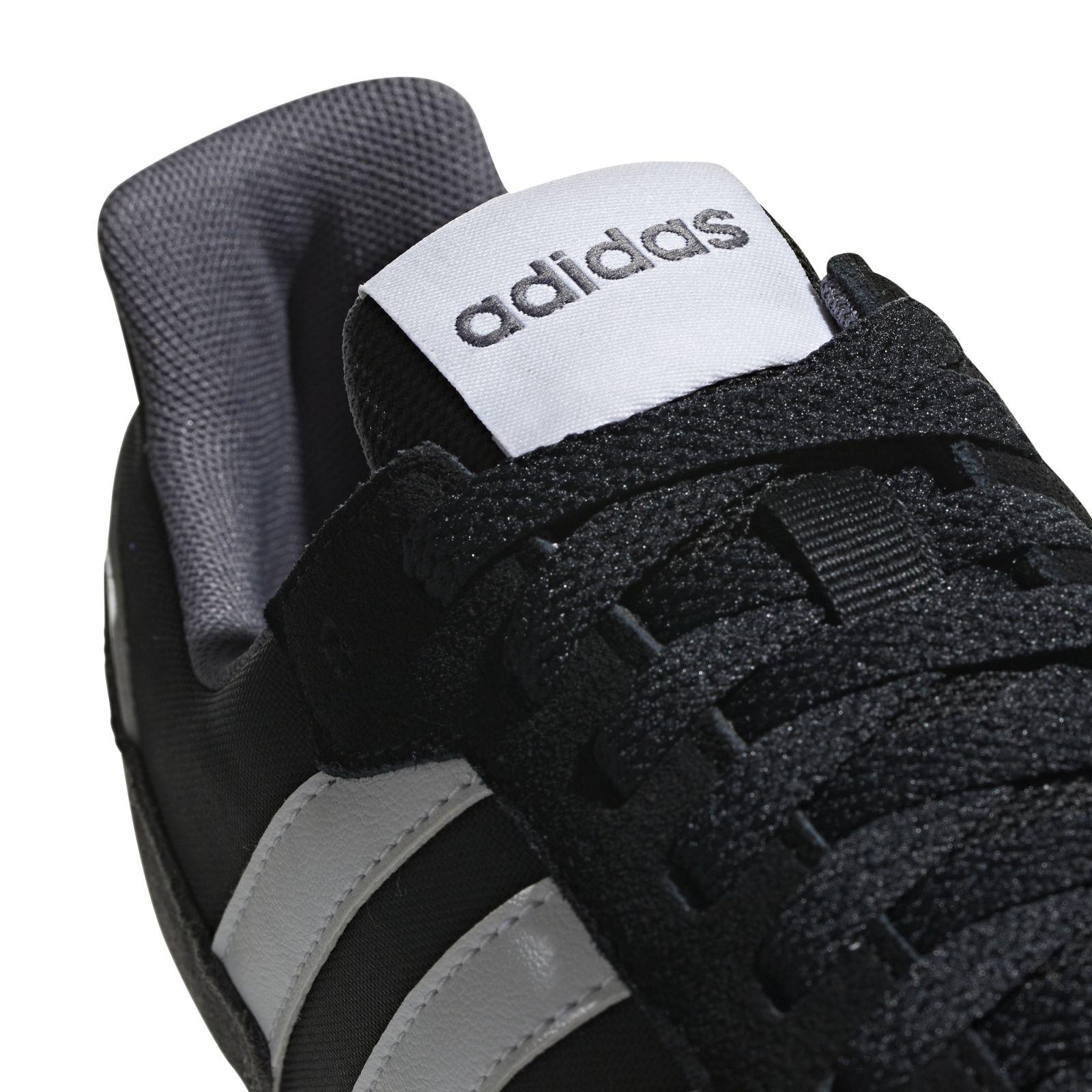 Details zu adidas Neo Herren Freizeitschuh Sneaker 8K schwarz weiß grau