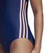 adidas Damen Badeanzug ESSENCE CORE 3S 1PC blau orange Bild 5