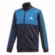 adidas Performance Kinder Trainingsanzug Tibero Track Suit Closed Hem blau weiß Bild 2