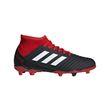 adidas Performance Kinder Fussballschuhe Predator 18.3 FxG schwarz weiß rot