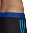 adidas Performance Herren Badehose fitness 3 stripes colourblock boxer schwarz Bild 6