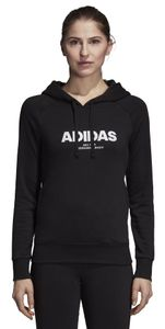 adidas Performance Damen Kapuzen Sweatshirt Essentials All Caps Overhead Hoodie schwarz