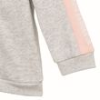 adidas Performance Klein Kinder Baby Style 3S Full Zip Hooded Jogger grau rosa Bild 4