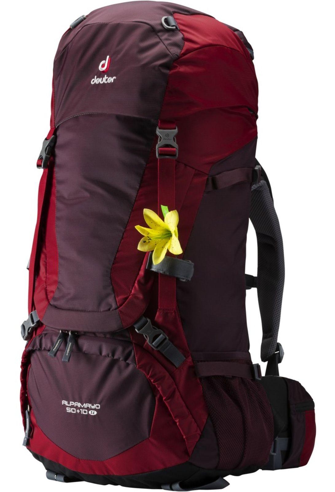 release info on lowest discount running shoes Deuter Damen-Wander-Outdoor-Expeditions-Rucksack Alpamayo 50 + 10 SL  aubergine | eBay
