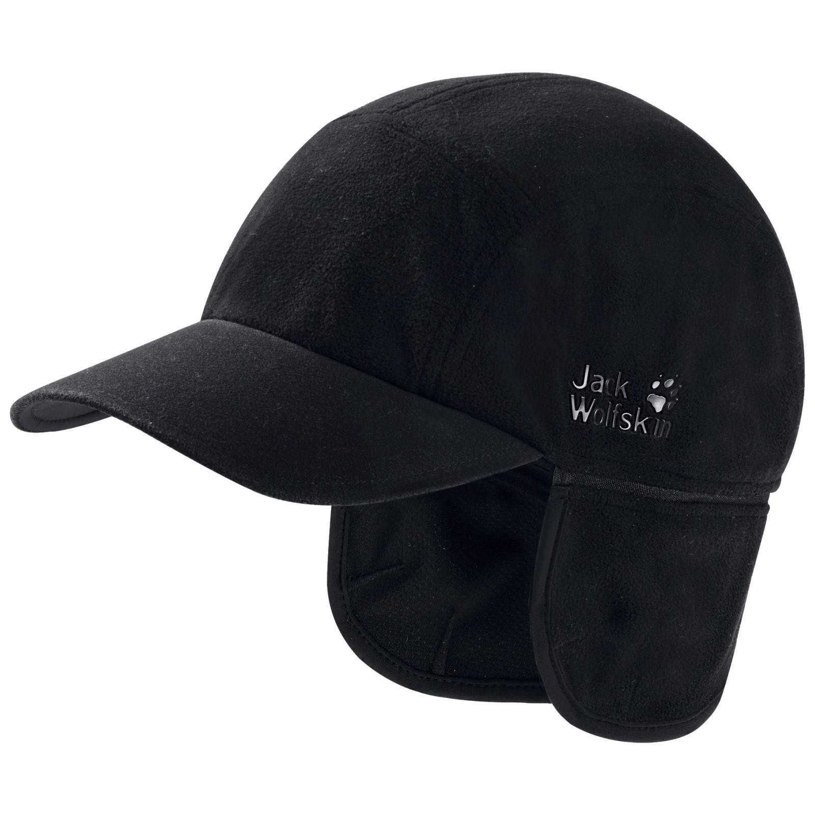 Baseball Blizzard Black Cap About With Flaps Details Jack Wolfskin Men's Stormlock Ear CxBoeWQrd
