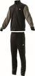 adidas Performance Herren Sport Trainingsanzug Cotton Relax Tracksuit 3S schwarz Bild 4