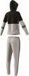 adidas Performance Damen Fitness Freizeit Trainingsanzug COTTON ENERGIZE grau  Bild 5