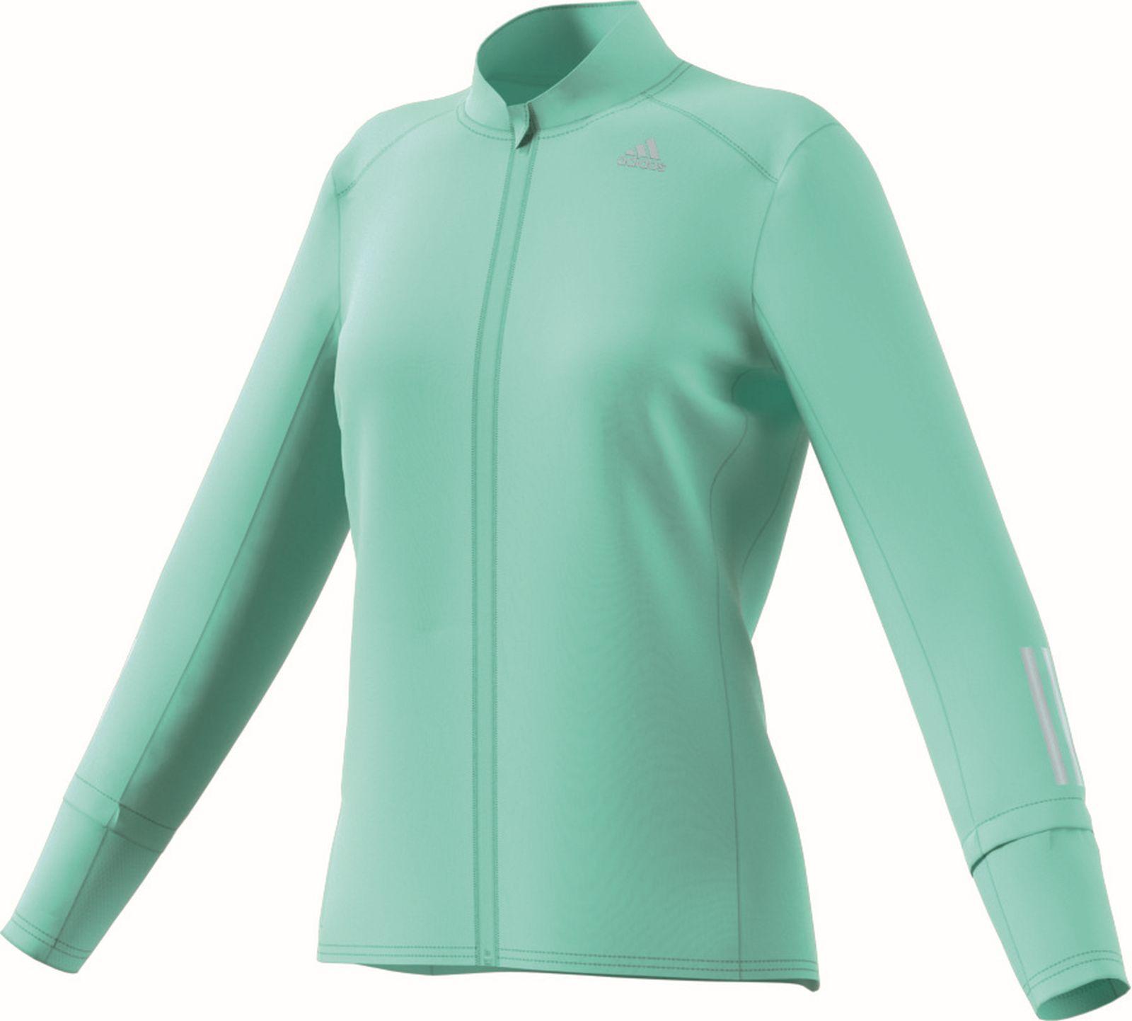 Details zu adidas Performance Damen Running Laufjacke Response Jacket W clear mint