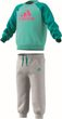 adidas Performance Klein Kinder Baby Anzug Infants Logo Jogger mint grau