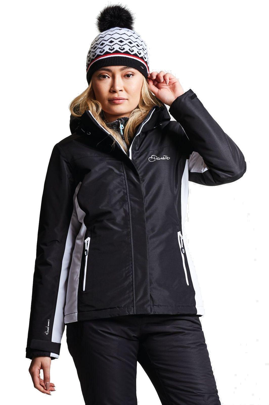 dare2b damen ski jacke skijacke prosperity jacket schwarz. Black Bedroom Furniture Sets. Home Design Ideas