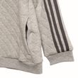 adidas Performance Klein Kinder Trainingsanzug Winter Jogger grau schwarz Bild 4