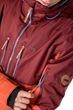 CNSRD Herren Top Modische Snowboard- / Skijacke Freizeitjacke John Jacket burgundy Bild 4