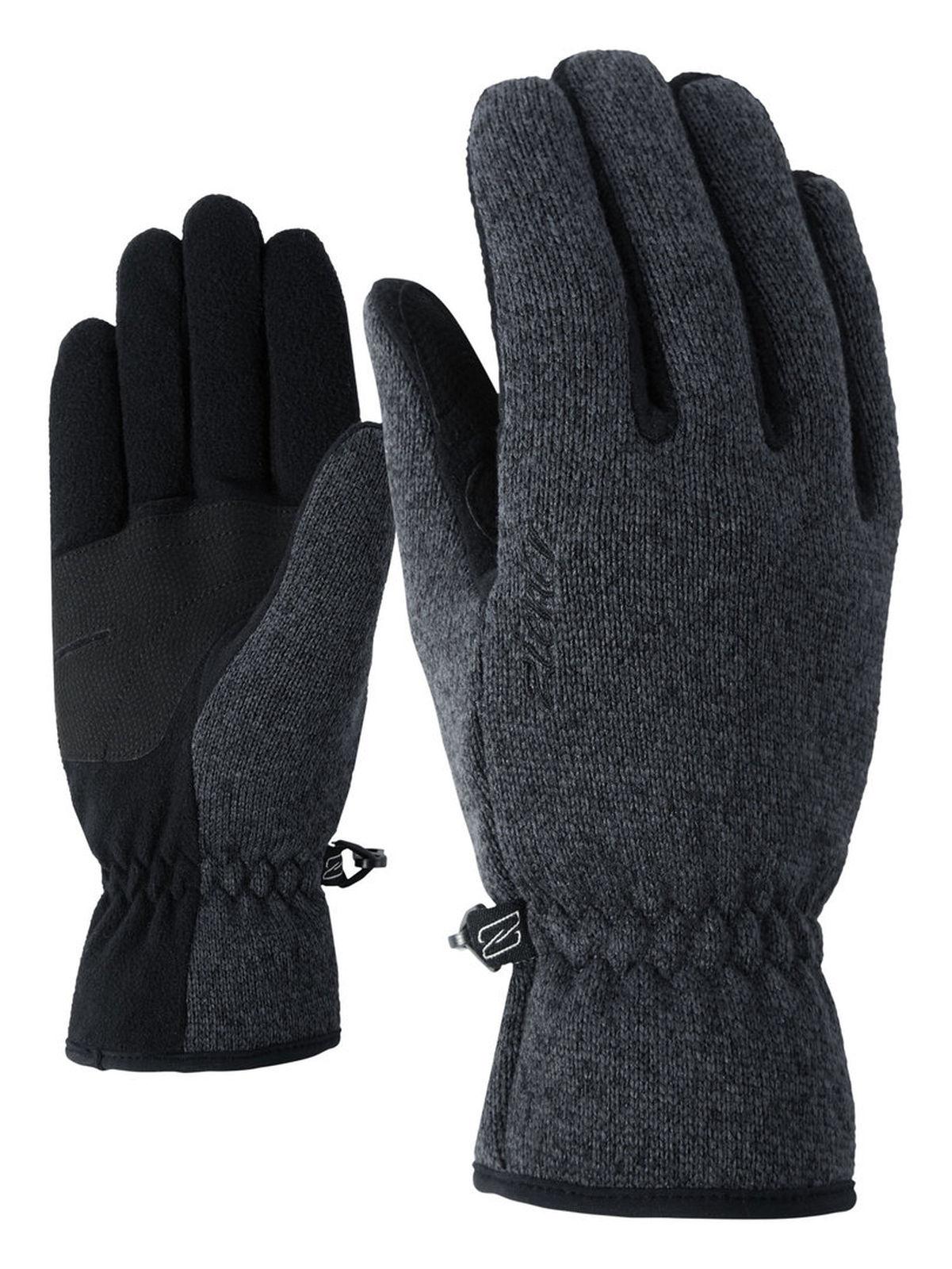 black melange Ziener Imagiana Lady glove