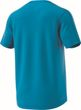 adidas Performance Herren Sport Freizeit T-Shirt DESIGN TO MOVE TEE 3 STRIPES blau Bild 5