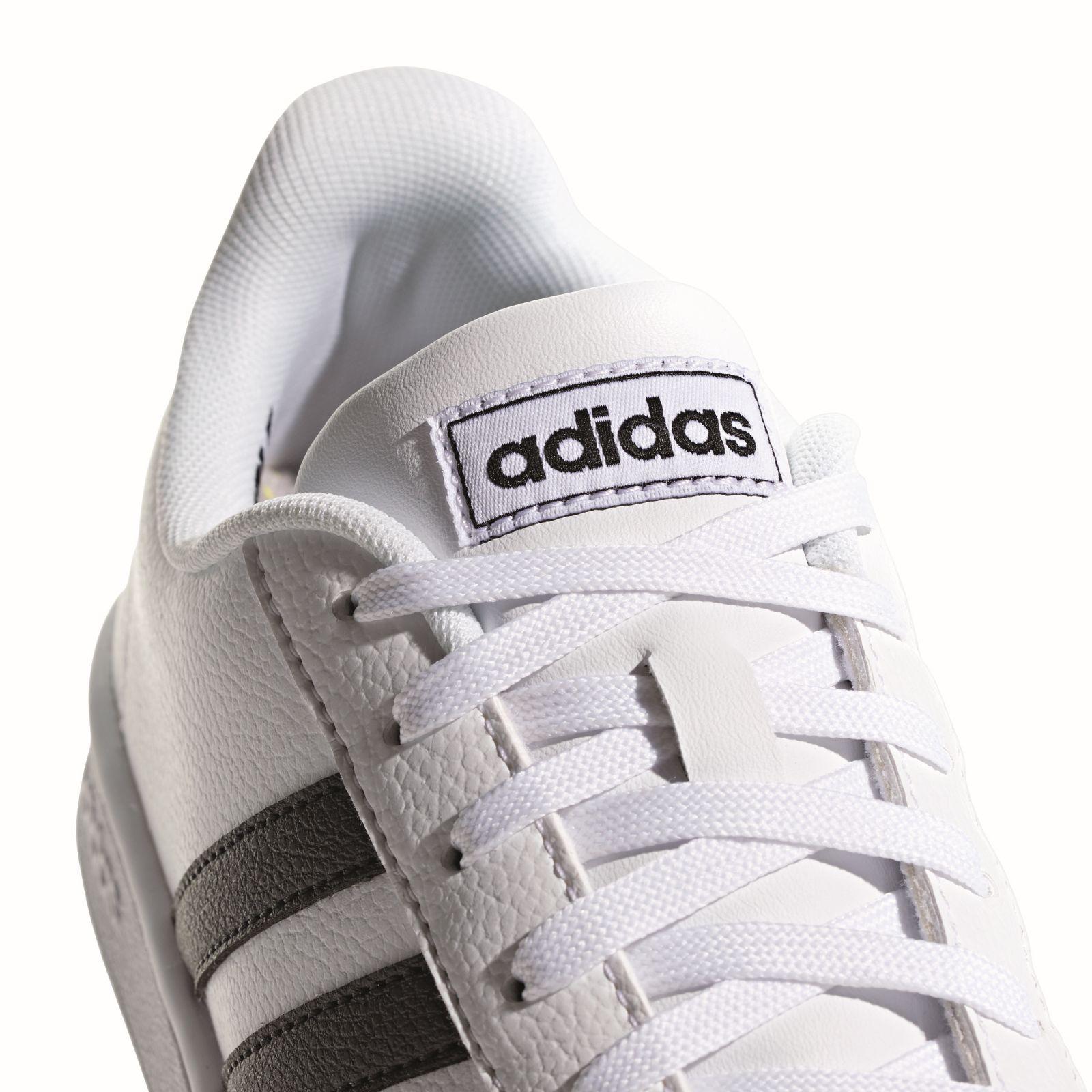 Details zu adidas Core Damen Freizeit Fitness Schuh Sneaker Grand COURT 2.0 weiß