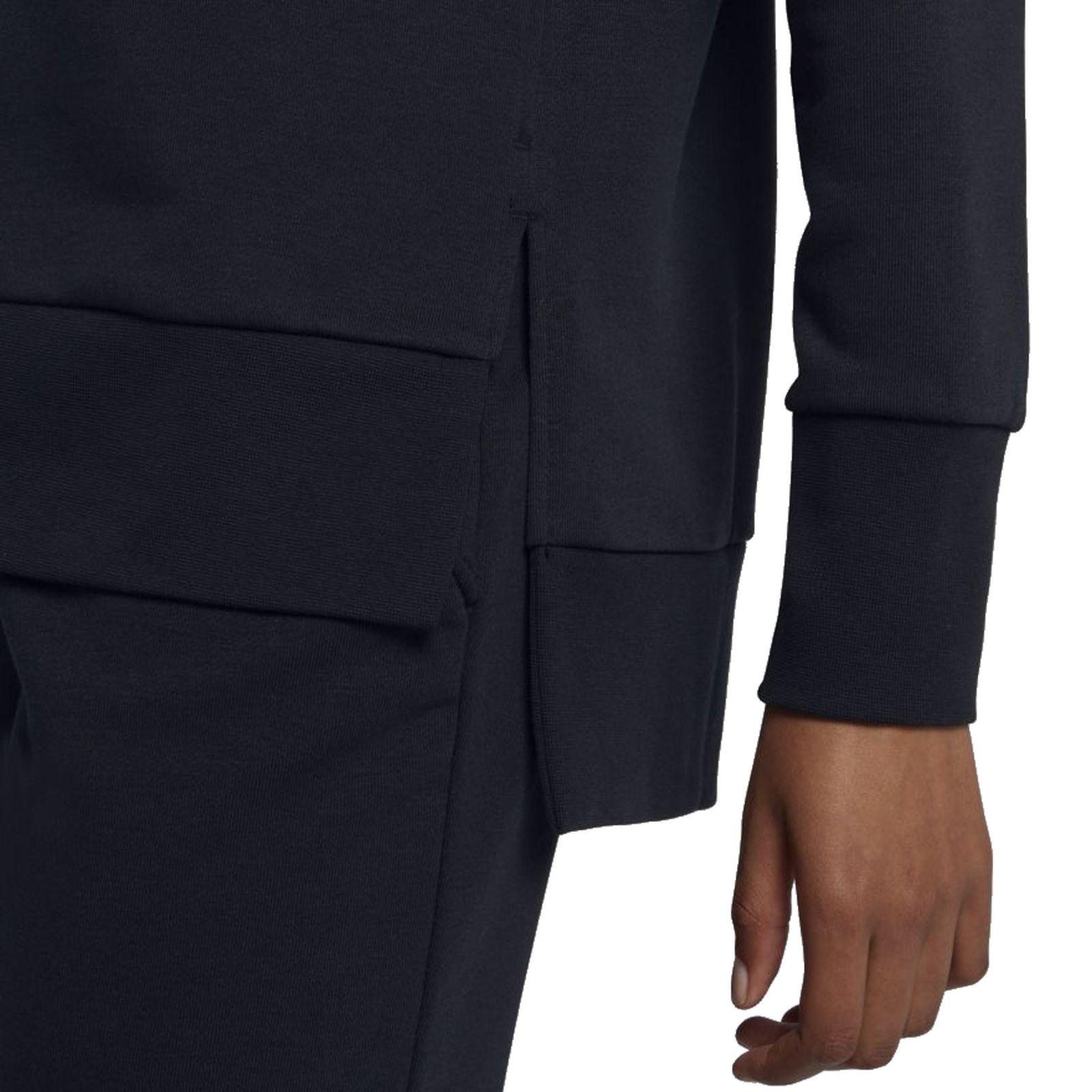 Details about Nike Women's Sports Fitness Hoody Sweater Jacket W NK Dry Hoodie Fz Black