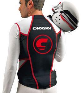 Carrera Herren Skiprotektor Jacket Prot Man schwarz rot weiss