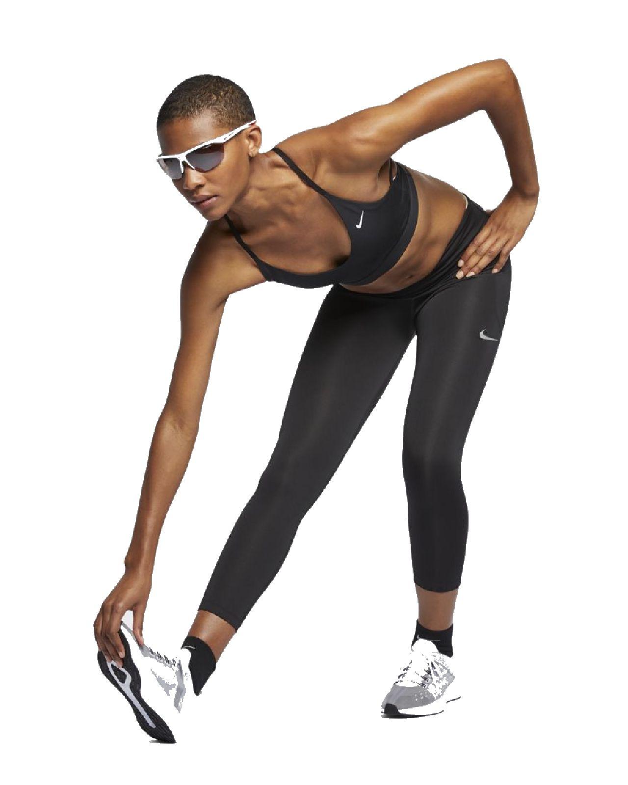Détails sur Nike Femmes 34 Fitnesshose Short de Course Capri W NK Rapide Crop Noir BV0038