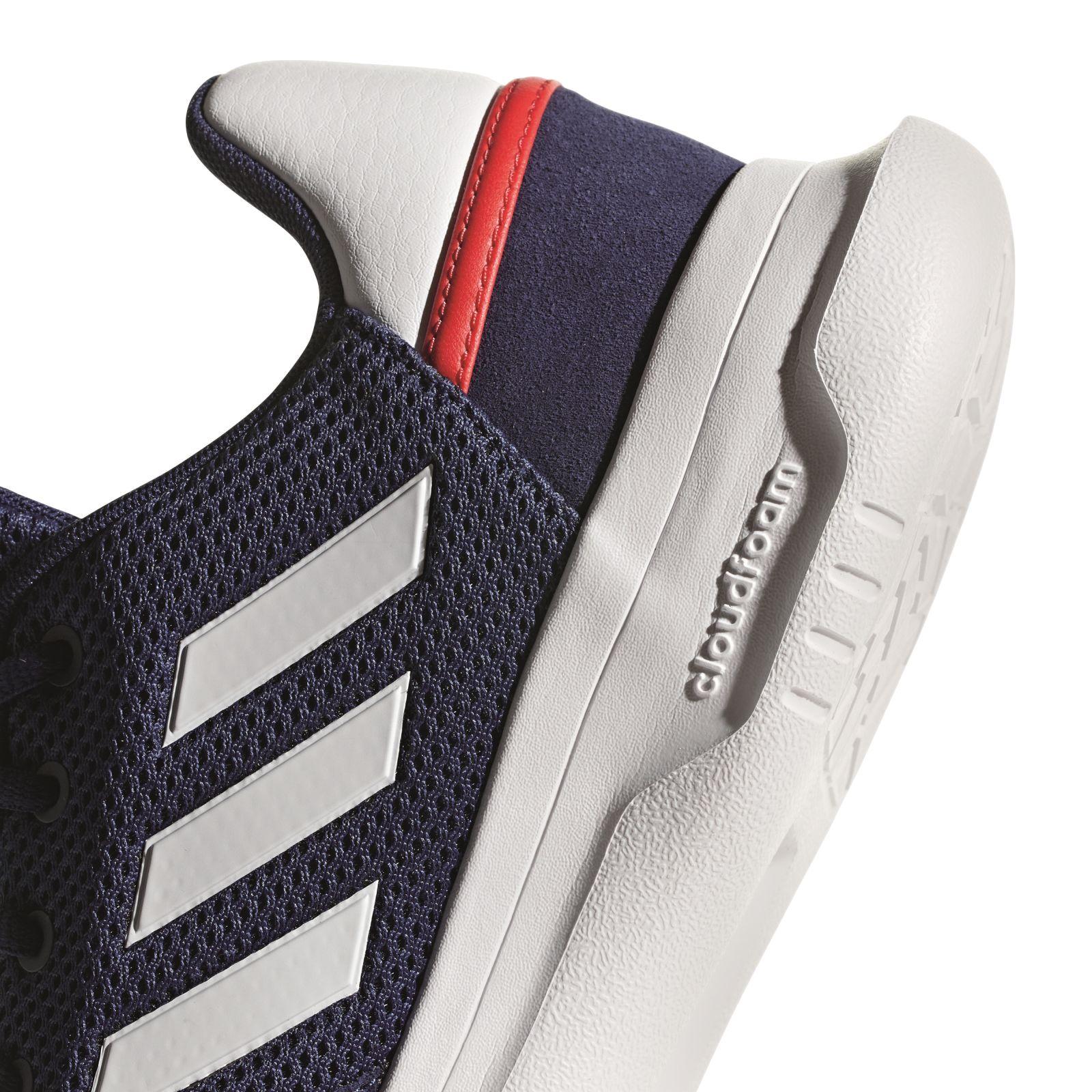 Details zu adidas Performance Herren Freizeit Basketballschuhe Fusion Flow blau weiß