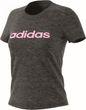 adidas Core Damen Fitness Sport T-Shirt Essentials Linear Slim Tee grau  Bild 4