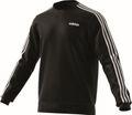 adidas Core Herren Sport Freizeit Pullover Essentials 3 Stripes Crewneck schwarz Bild 4