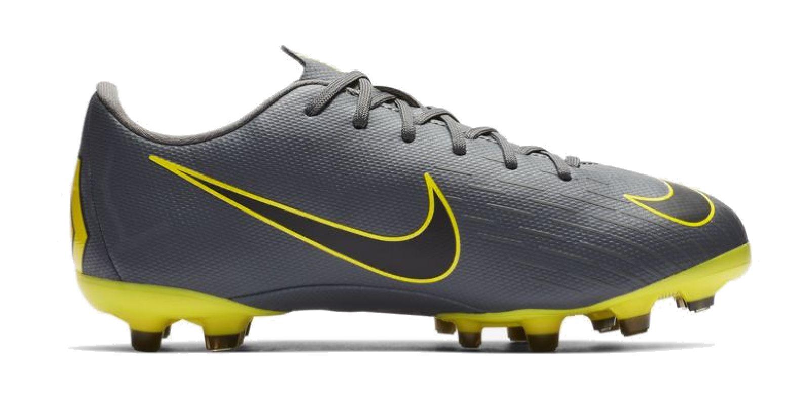 sale best price best deals on Details zu Nike Kinder Fußballschuhe NockenschuhE Vapor 12 Academy MG grau  gelb AH7347 070