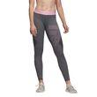 adidas Performence Damen Tight ALPHASKIN SPR Long Tight Logo Pack grau pink