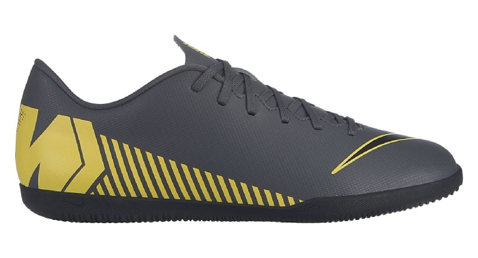 Details zu Nike Herren Hallenschuhe Fußballschuhe MercurialX Vapor XII Club IC schwarz gelb