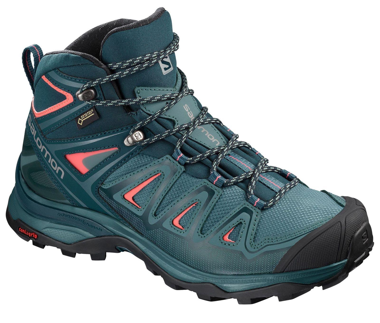 Rot X Ultra Trailschuhe Damen 3 Salomon Blau W Laufschuhe Gtx® Mid QxsrChdt