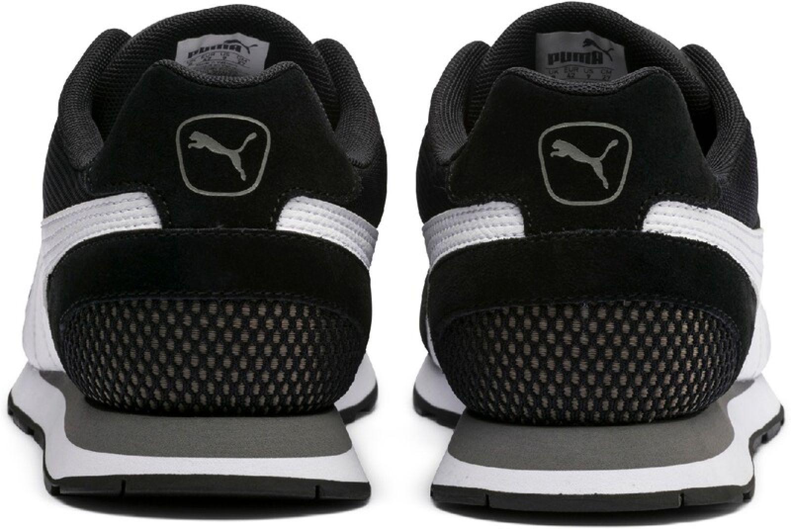 Details zu Puma Damen und Herren Freizeitschuhe Sneaker Vista schwarz weiss 369365 01