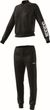 adidas Performance Damen Trainingsanzug New Cotton Marker Tracksuit schwarz Bild 4
