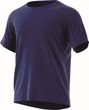 adidas Performance Herren Sport Fitness Shirt FreeLift STRIPE blau Bild 4