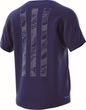 adidas Performance Herren Sport Fitness Shirt FreeLift STRIPE blau Bild 5