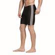adidas Performance Herren Badehose Boxer fitness 3-Stripes swim jammer schwarz Bild 2