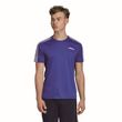 adidas Performance Herren Sport Freizeit T-Shirt Design2Move Tee 3S blau