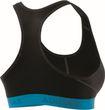adidas Performance Damen Sport BH DONT REST ASK SPORT PRINT 2 BRANDED blau grau Bild 5