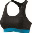 adidas Performance Damen Sport BH DONT REST ASK SPORT PRINT 2 BRANDED blau grau Bild 4
