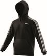 adidas Core Herren Sport Pullover Essentials 3 Stripes Pullover French Terry schwarz weiß Bild 4