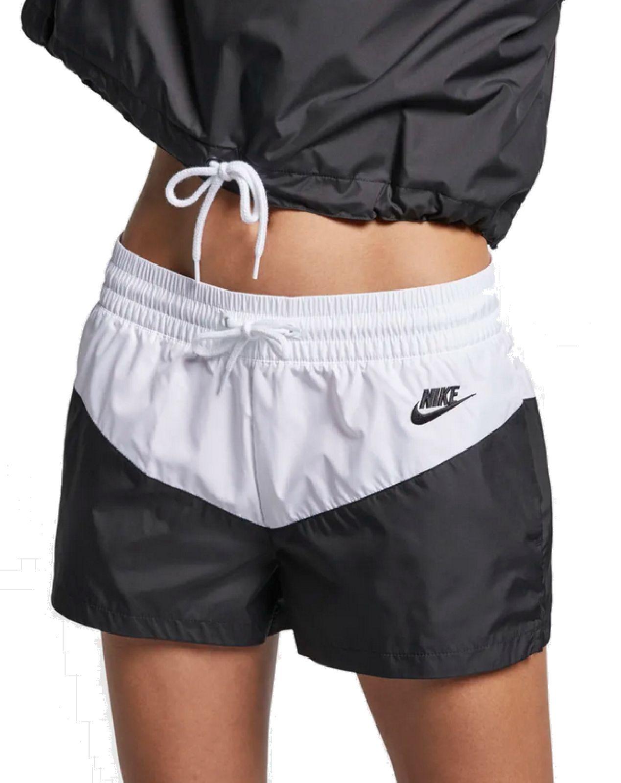 short negroeBay Nike blanco entrenamiento NSW señora W short nike libre tiempo HRTG fitness J31KcTlF