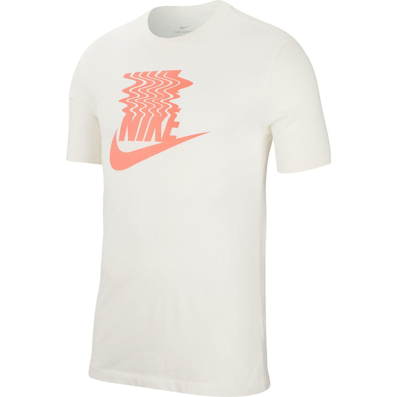 Detalles de Nike Herren Sport Fitness T Shirt Camiseta Logo Sznl Stmt Verano Vibes Beige
