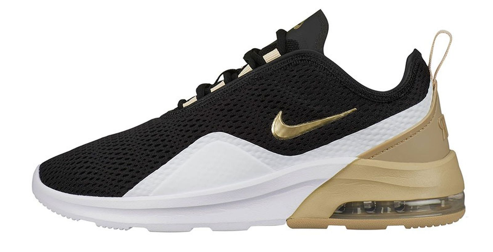 nike air max motion 2 gold