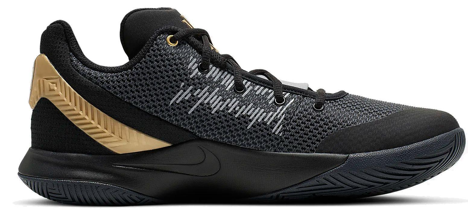 info for 76057 2bb3a Nike Herren Sportschuhe Basketballschuhe Nike KYRIE FLYTRAP II schwarz gold  grau