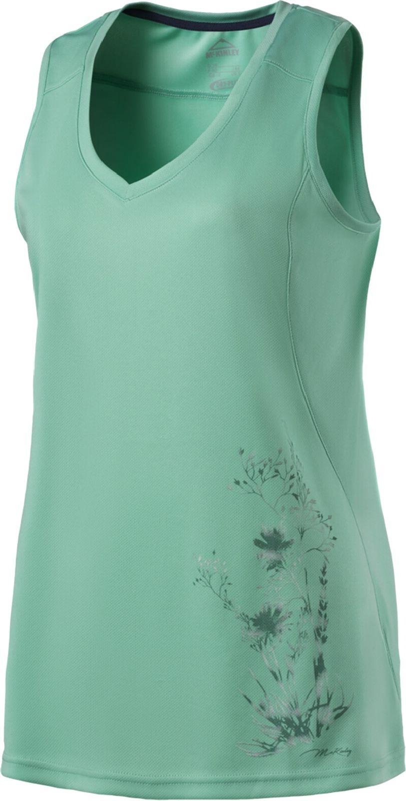 McKinley Damen Freizeit Outdoor Wander Achselshirt Top Cordelia blau