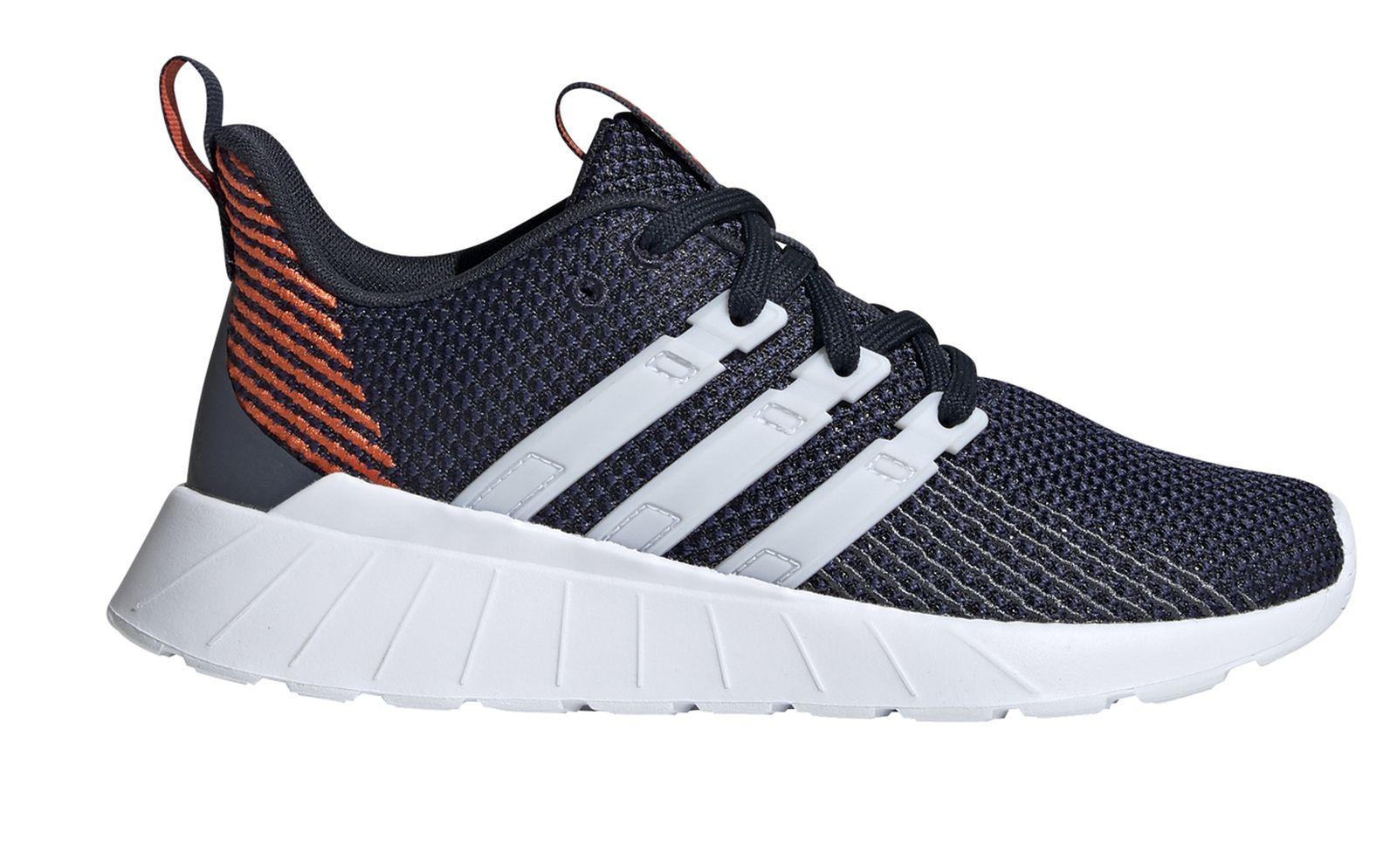 Détails sur Adidas Core Enfants Chaussure de Loisir Basket Questar Flow K Noir