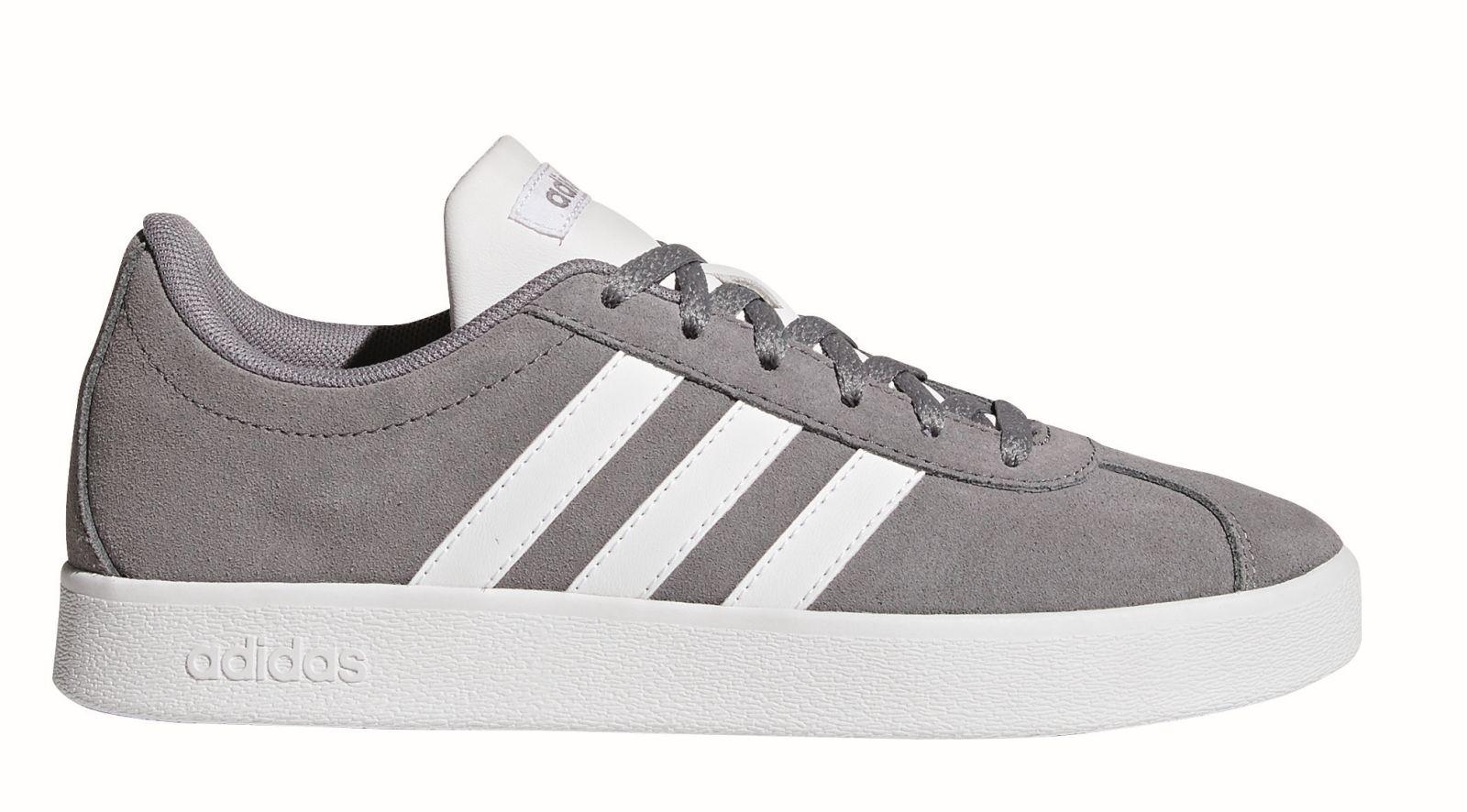 Grau 0 Adidas Court Zu Core Schuhe Sneaker Details Vl Kinder K 2 7fybg6vmIY